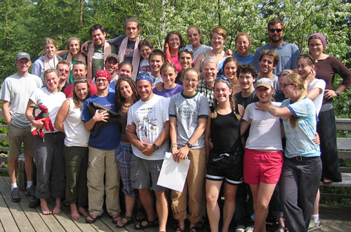 Our WFR Class, Menogyn Wilderness Canoe Base, May/June 2005